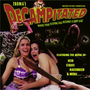 decampitated soundtrack cd