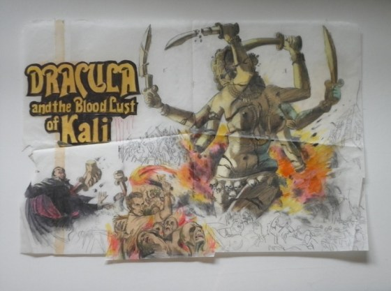 dracula and the blood Lust of Kali