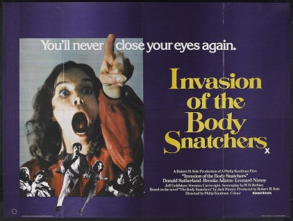 Invasion of the Body Snatchers British quad poster