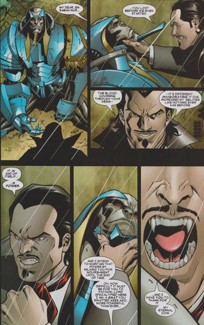 x-men apocalypse dracula #4