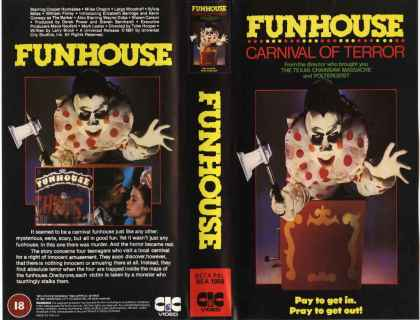 1981 - Funhouse, The (VHS)
