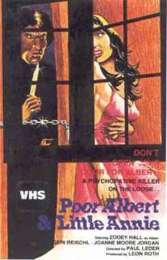 poor albert & little annie aka i dismember mama vhs front