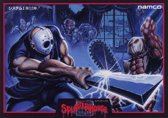 Splatterhouse_arcadeflyer