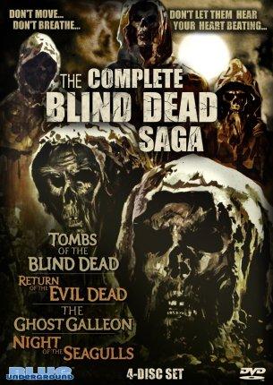 Complete Blind Dead Saga - Blue Underground DVD