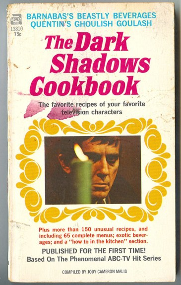dark shadows cookbook