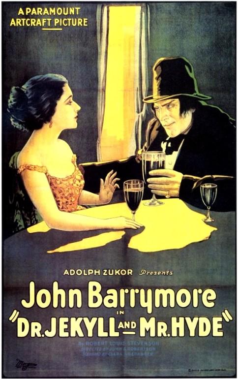 Dr Jekyll & Mr Hyde Barrymore 1