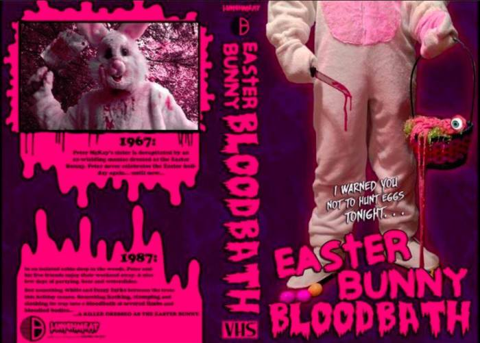 easter bunny bloodbath briarwood entertainment vhs