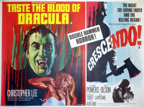 taste the blood of dracula + crescendo