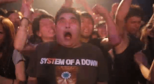 dead banging aka metalca system of a down zombie