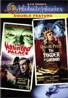 haunted palace + tower of london MGM midnite movies dvd