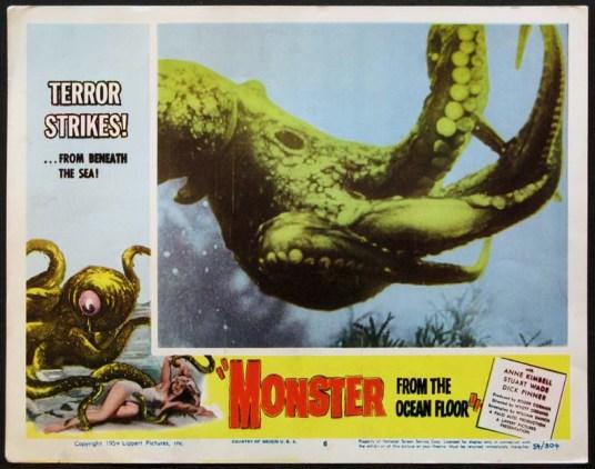 monster from the ocean floor still