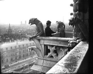 gargoyles Notre Dame Paris 1901