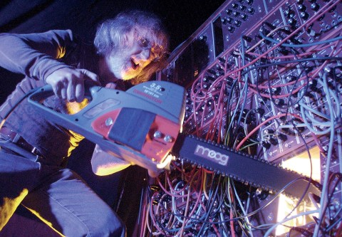 Keith Emerson's sound-man gets to grips with the Moog