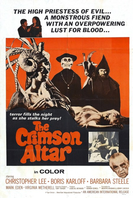 Curse of the Crimson Altar poster