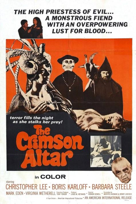Curse of the Crimson Altar poster