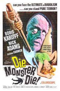 die_monster_die_poster_artwork by Reynold Brown