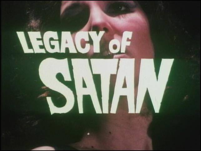 Image result for legacy of satan 1974