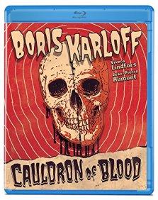Cauldron of Blood Olive Films Blu-ray