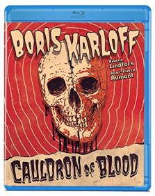 Cauldron of Blood Olive Films Blu-ray