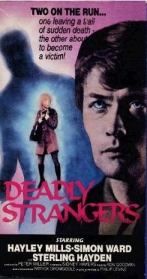 deadly strangers vhs front2