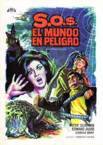 Island of Terror Spanish poster