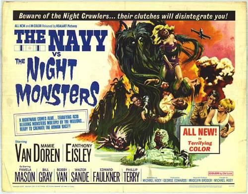 Navy vs. the Night Monsters poster