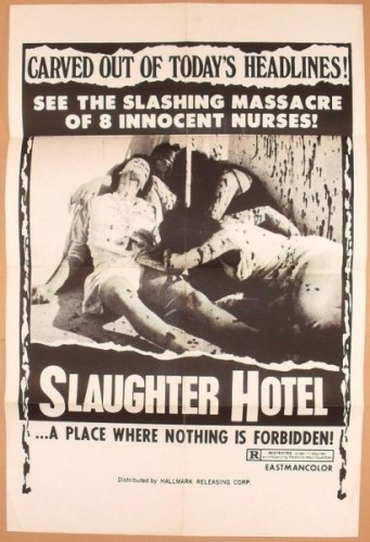 Slaughter Hotel One Sheet Hallmark Releasing