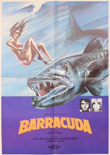 Barracuda Yugoslavian poster