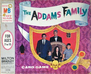 Addams-Family-Card-Game-MB-gamesScreen Shot