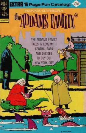 Addams-Family-Gold-Key-comic-January-1975