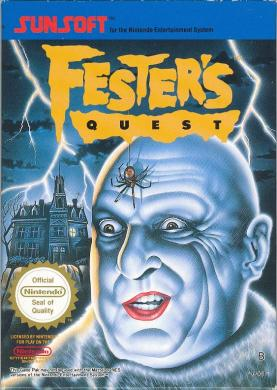 Festers-Quest-Nintendo-video-game