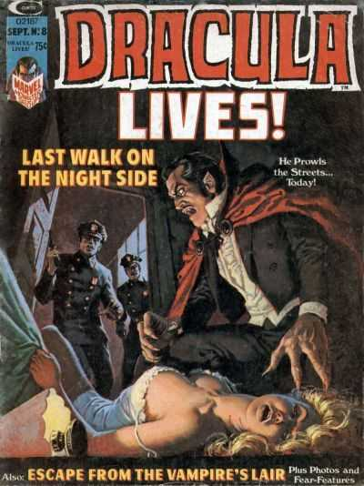 Dracula-Lives-Marvel-issue-8-Sept-1974