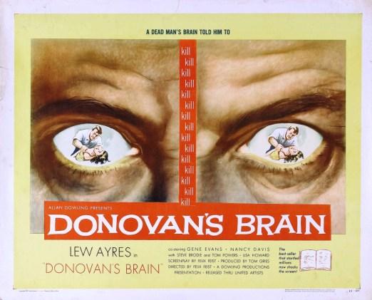 Donovan's-Brain-Lew-Ayres-1953-poster