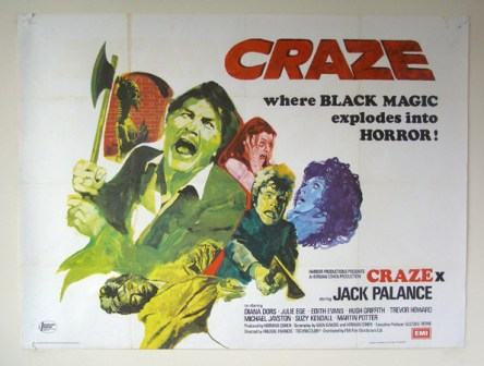 craze uk quad poster