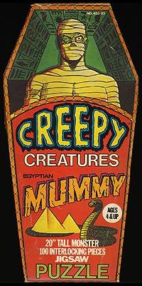 PuzzleCreepyCreaturesMummy
