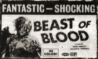 beast of blood ad mat