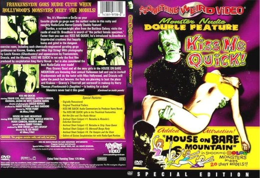 kiss me quick-house on bare mountain dvd2