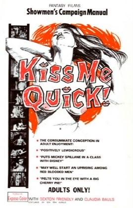 kiss me quick press book