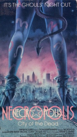Necropolis VHS Cover