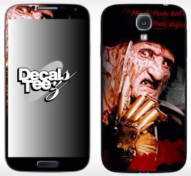 Samsung-Galaxy-phone-Freddy-Krueger-decals