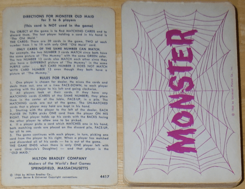 Monster-Old-Maid-instructions-1964