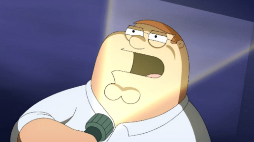 Family-Guy-Peter-Griffin-horror-story-flashlight