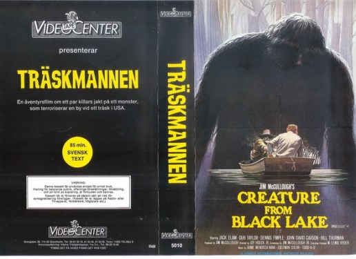 Traskmannen-Swedish-VHS-Creature-from-Black-Lake