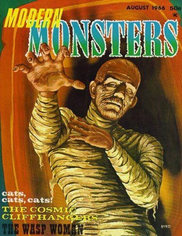 Modern-Monsters-no-3-magazine-August-1966