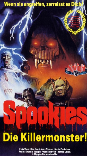 spookies-1986-horror-movie-german-poster