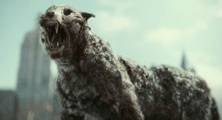 Zombie tiger in Zack Snyder's Army of the Dead (2021)