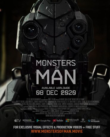 Monsters Of Man 2020 Preview Of Rogue Robots Actioner With Trailer Movies And Mania
