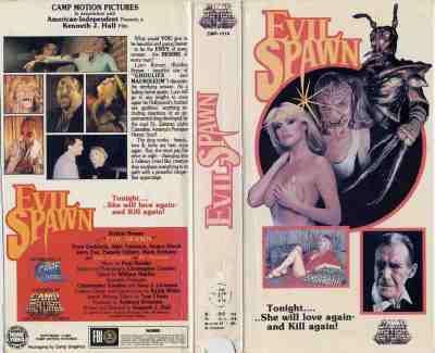 Evil-Spawn-movie-film-sci-fi-horror-Bobbie-Bresee-Camp-Motion-Pictures-VHS-sleeve-review-reviews