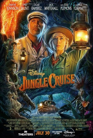 Jungle-Cruise-movie-film-action-adventure-Disney-2021-review-reviews-Dwayne-Johnson-Emily-Blunt-poster