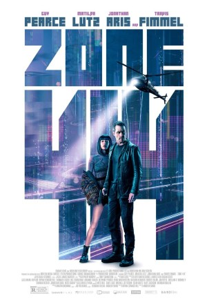 Zone-414-movie-film-sci-fi-humanoid-robots-2021-Guy-Pearce-Matilda-Anna-Ingrid-Lutz-helicopter-cityscape-poster